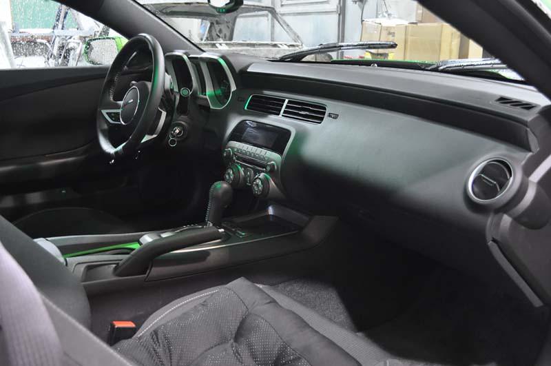 2010 chevy camaro custom interior. Black Bedroom Furniture Sets. Home Design Ideas