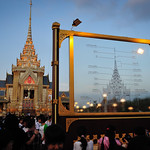 The royal crematorium of HRH Princess Galyani Vadhana at Sanam Luang
