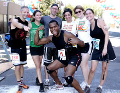 Beasts at the Greenpoint 5K finish line by rutila