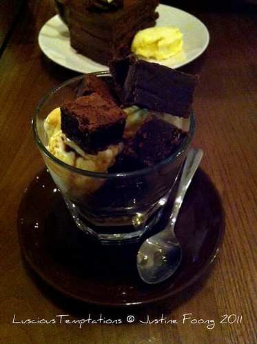 Chocolate Brownie Affogato - Brew, Clapham Junction/Battersea