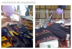 Électronique vs. Lingerie - Souvenirs de Museomix