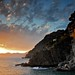 Cinque Terre Sunset by amos lee