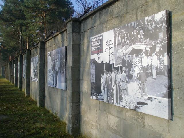 Information at Sachsenhausen