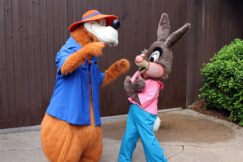 Meeting Brer Rabbit and Brer Bear