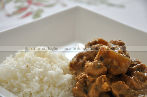 Potato chicken curry