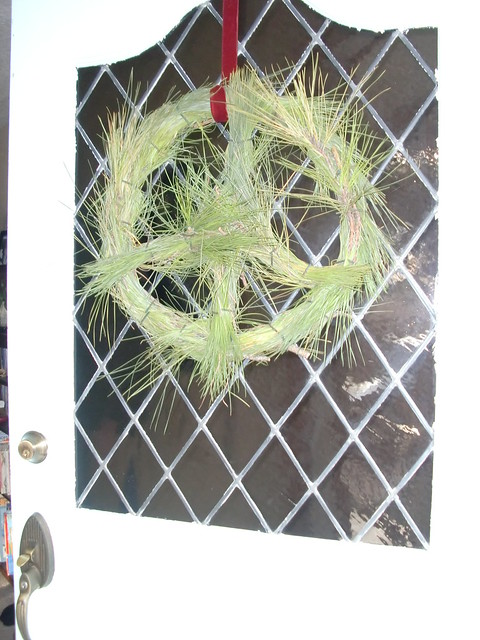 Peace Pine Wreath