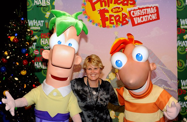 Angry Julie, Phineas and Ferb