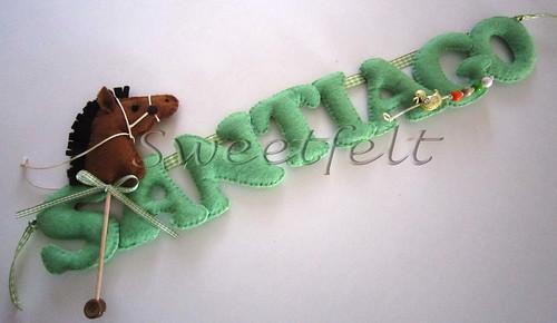 ♥♥♥ Santiago ... by sweetfelt \ ideias em feltro