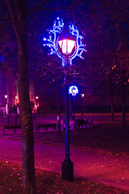 christmas lights, queen's square | Flickr - Photo Sharing!