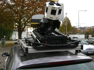 rear view of the cam system