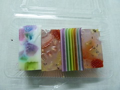 A squidgy sweet I bought in Trang
