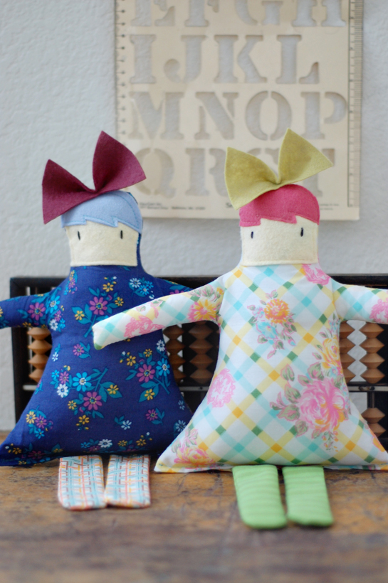 sewn dollies