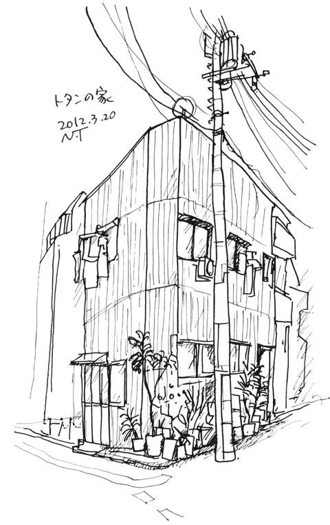 トタンの家 The house which is made of galvanized sheet metal