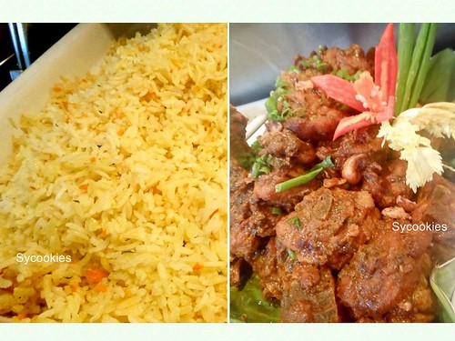 12.chicken briyani and butter rice