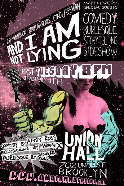 And I Am Not Lying Live 4.3.2012