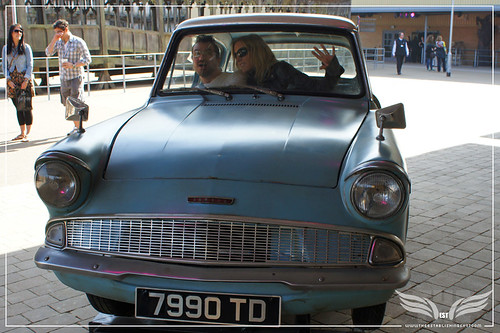 The Establishing Shot: The Making of Harry Potter Tour - Outside Sets Drive Arthur Weasley's 1963 Ford Anglia 105E Deluxe by Craig Grobler