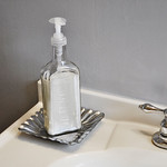Vintage Bottle Soap Dispenser