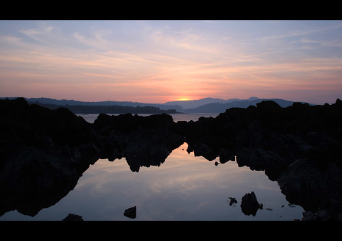 Rockliffe Rockpools Rock by Mike Bolam