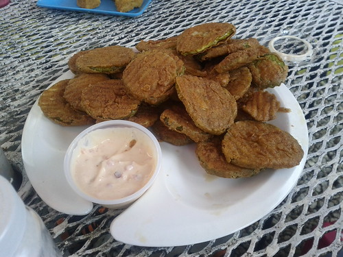 Deep fried pickles ftw #mainiac
