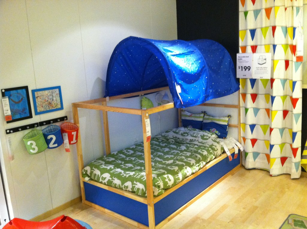 IKEA KURA twin bed | Jacob and I love this reversible bed. I… | Flickr
