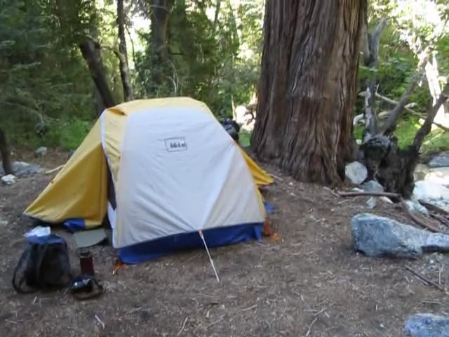 0317 Commanche Camp Tent and Big Cedar