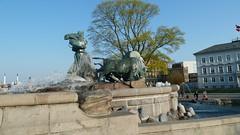 Gefionspringvandet Gefion Fountain