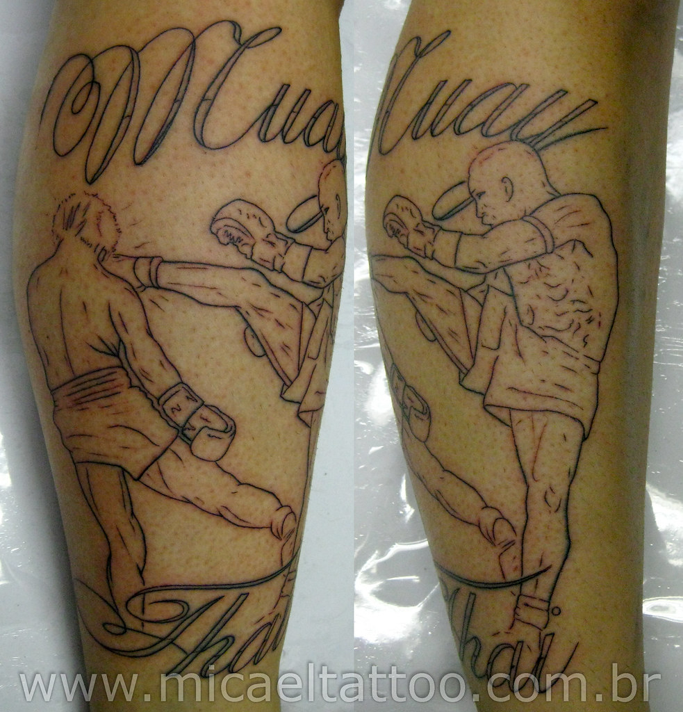 tatuagem muay thai tattoo a photo on flickriver. Black Bedroom Furniture Sets. Home Design Ideas