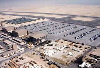 Air Base in Bahrain Desert Storm