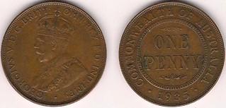 Australia penny 1935