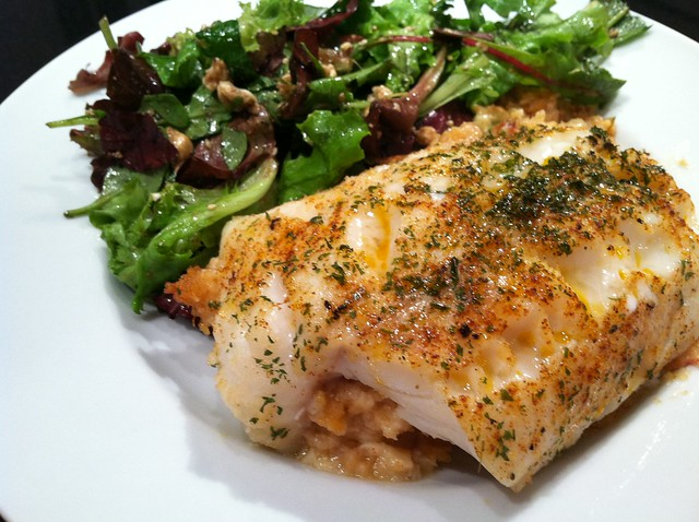Baked Stuffed Scrod With Crabmeat Flickr Photo Sharing