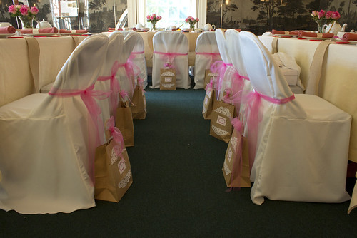 Gift Bags and Chairs