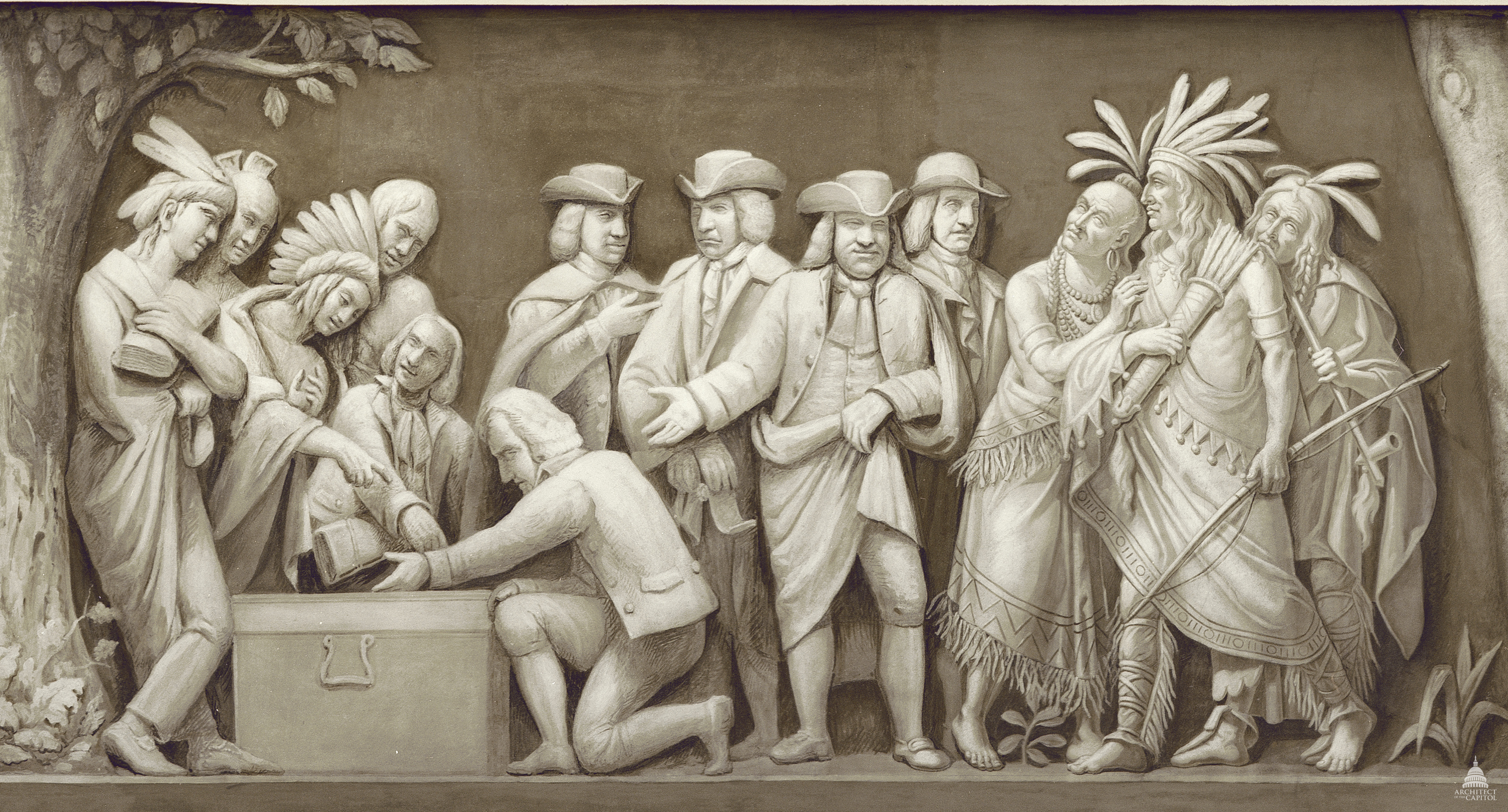 Indians: William Penn And The Indians