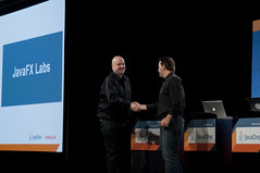 "Jasper Potts and Richard Bair, Technical Keynote ""JavaFX"", JavaOne 2011 San Francisco"