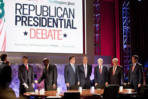 Un debate de las primarias republicanas