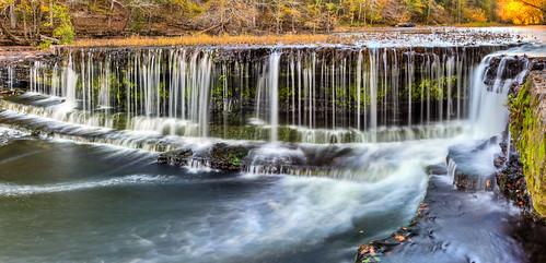 waterfall waterfalls hdr photomatix oldstonefortstatepark tennesseestateparks oldstonefortstatearchaeologicalpark