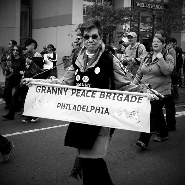 """Granny Peace Brigade"""