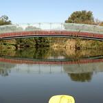 BRIDGE K835: Overpeck Golf Course South Bridge over Overpeck Creek, Teaneck, New Jersey