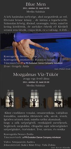 Blue men & Mozgalmas Víz-Tükör, avagy egy festő álma