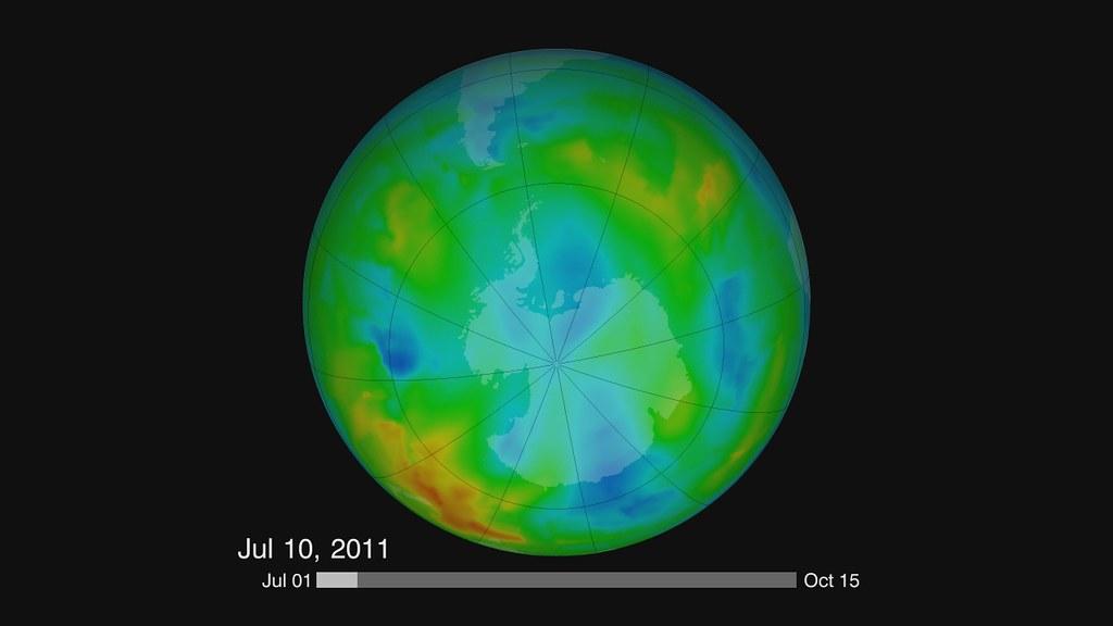 NASA, NOAA Data Show Significant Antarctic Ozone Hole Remains [hd video]