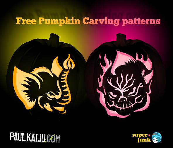 3D Pumpkin Carving Patterns http://www.flickr.com/photos/superjunk/6264419968/