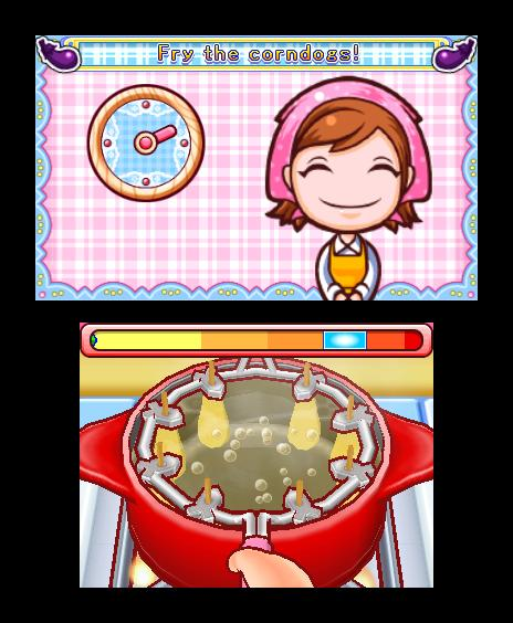 Cooking Mama 4 Kitchen Magic 3ds Review