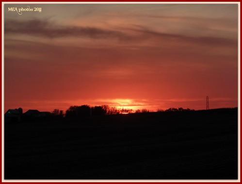 sunset orange sun nature yellow wisconsin clouds dusk 1001nights 1001nightsmagiccity