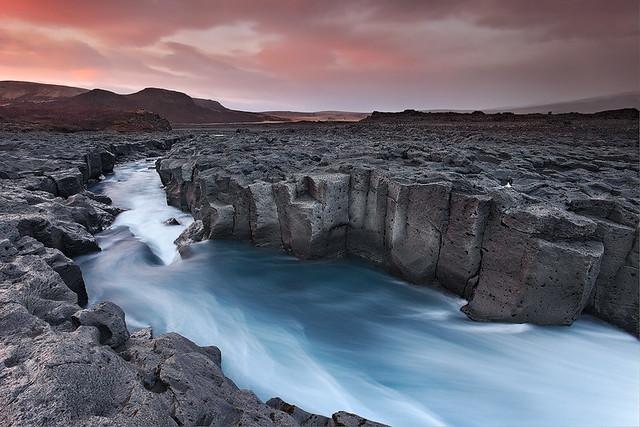 Cold River - Húsafell in Borgafjörður, Iceland