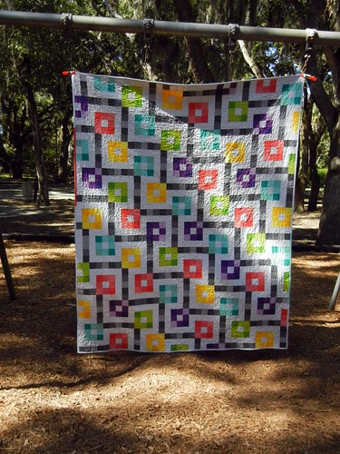 Fabricland quilt - finished!