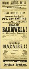 Theatre in Auckland, 1858