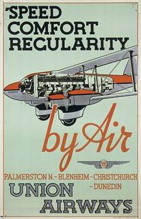 Commercial airlines become successful, late 1930s