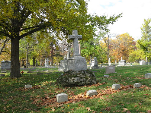Bruen family plot, section 102, Woodland Cemetery, Dayton, Ohio