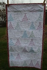 Back of Little Forest quilt