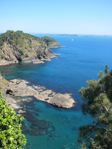 Robertson Island, Bay of Islands, NZ