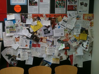 Noticeboard at Sainsbury's in Muswell Hill
